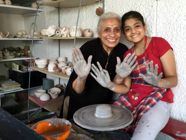 Pottery- A date with the Wheel!